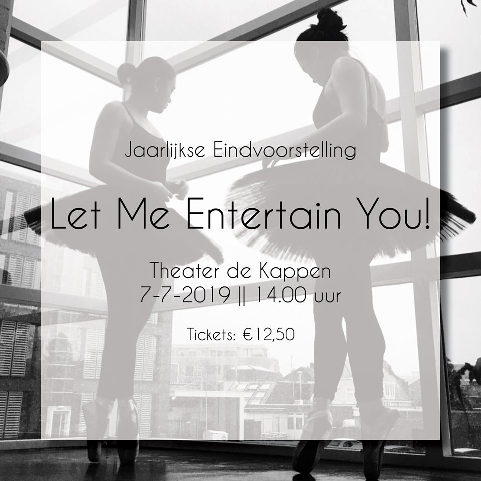 Let Me Entertain You!